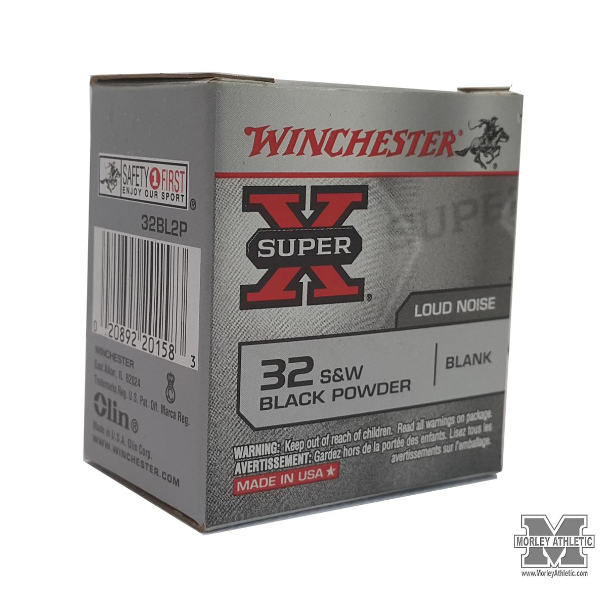 Winchester  32 Caliber Blanks For Starter Pistol